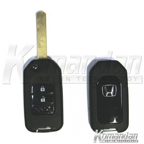 HONFKS03 - Flip Key Shell - Honda, New Look, 2 Button