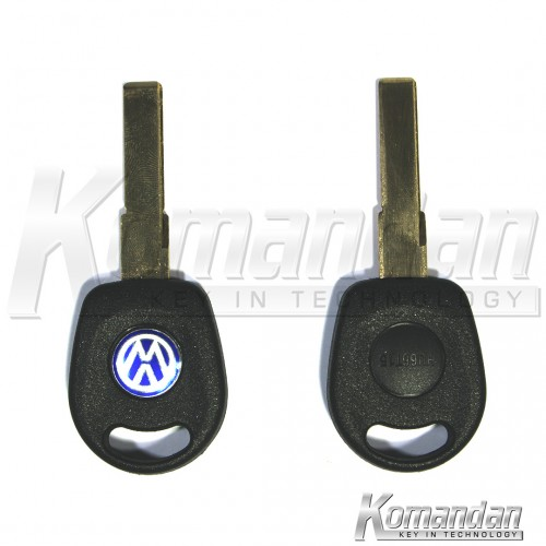 VOWTKS02 Transponder Key Shell VW no lamp