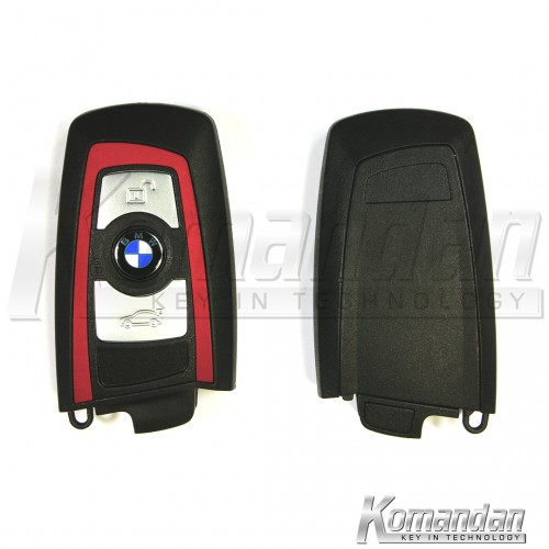 BMWSK006 Smart Key BMW F Series 3B Red