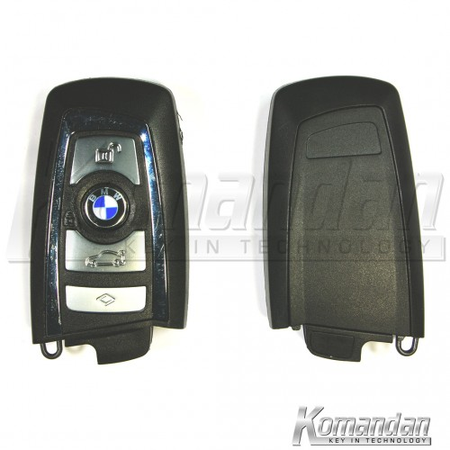 BMWSK007 Smart Key BMW F Series 4B Silver