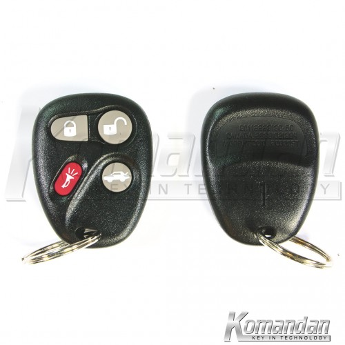 CHESPR02 Separate Remote Key Hummer 3+1B