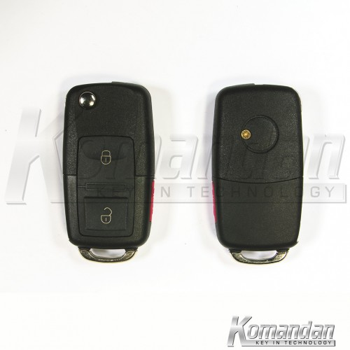 KDYFRK02 Flip Remote Key KD VW Look B01 2+1B