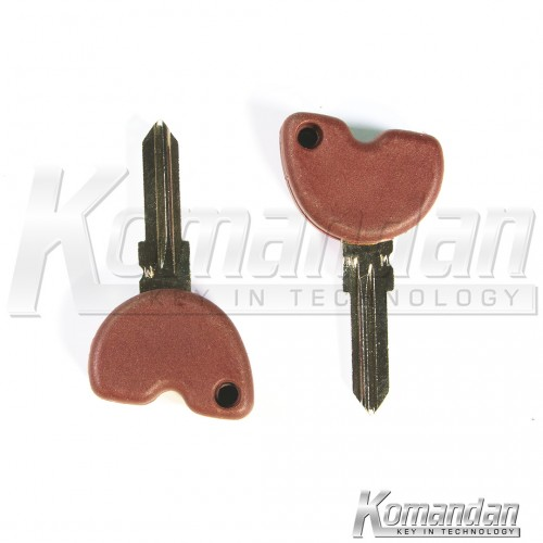 VESTKS01 Transponder Key Shell Vespa Brown